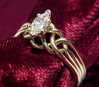 Puzzle Ring(s) Crafted By Norman Greene, Puzzle Ring Artist